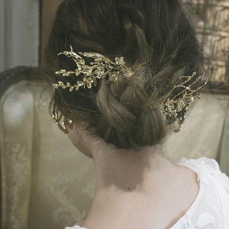 〈DE-HD06〉bouquet head dress