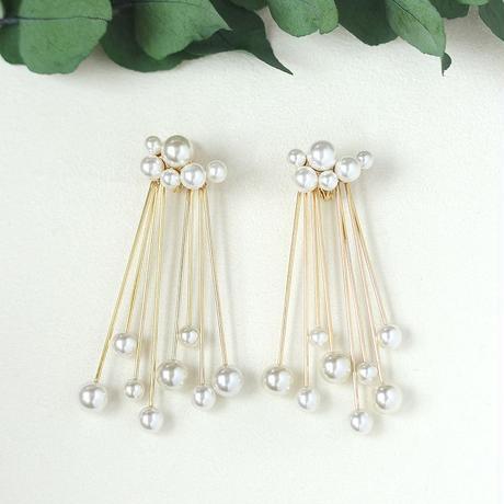 〈DE-ER173〉cloud pearl earring