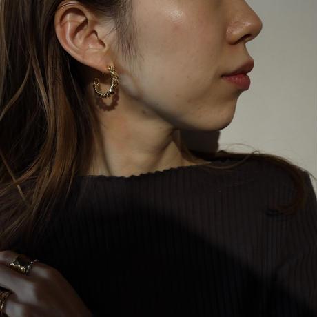 〈DE-EC64〉asymmetry chain ear cuff