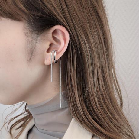 〈DE-EC65〉snake chain ear cuff