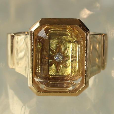 〈DE-AR107〉signature ring