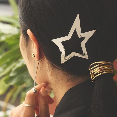 〈DE-HC64〉star hair clip