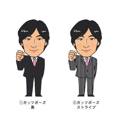 似顔絵/男性