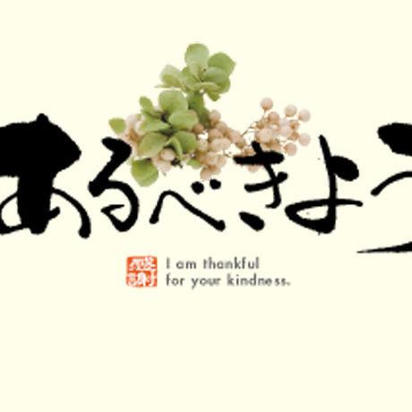 メッセージカード  出会い 感謝 お祝い ご挨拶 11-0512  1セット(10枚)