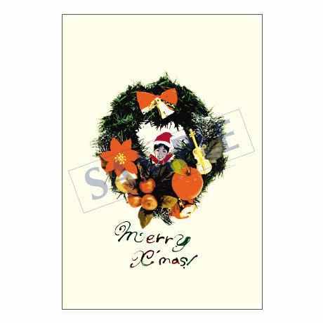メッセージカード クリスマス 10-0481 1セット(10枚)
