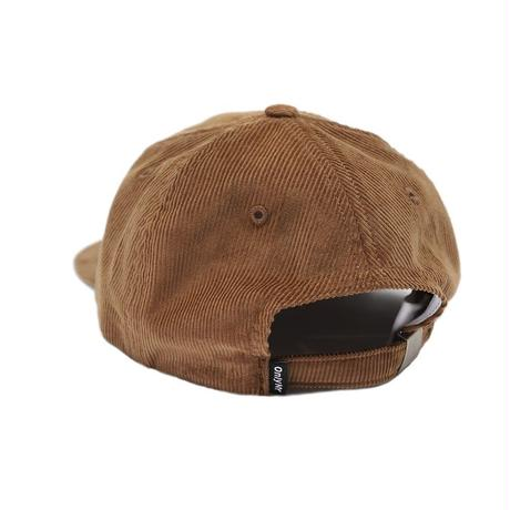 """ONLY NY"" Corduroy Service Polo Hat (Tan)"