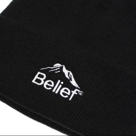 """""""Belief"""" Summit Beanie - Black"""