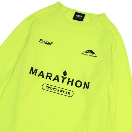 Marathon Mesh Jersey - Safety Yellow