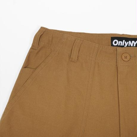 """ONLY NY"" Canvas Fatigue Pants (Camel)"