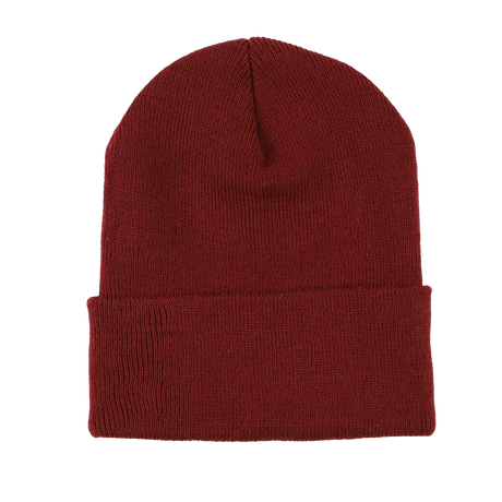 K'rooklyn × 上岡 拓也 Collaboration Knit Cap (Wine Red)