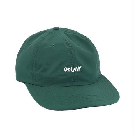 """""""ONLY NY"""" Nylon Tech Polo Hat(Hunter Green)"""