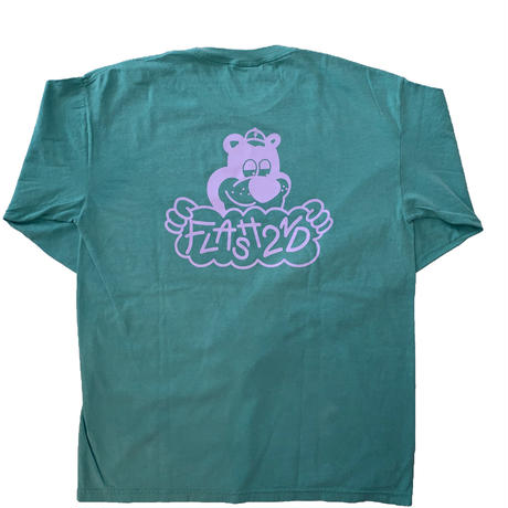 """FLASH"" Bear L/S Tee (Green)"