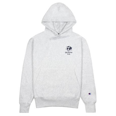 """Belief"" World's Borough Champion® Hoody - Ash"