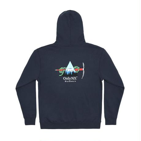 """ ONLY NY"" Winter Expedition Hoodie (Slate Blue)"