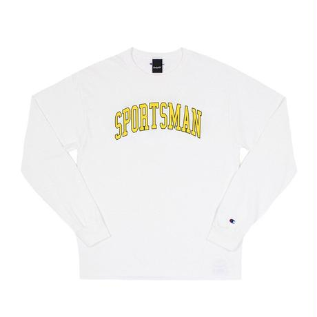 """ONLY NY"" Sportsman Champion® L/S T-Shirt (White)"