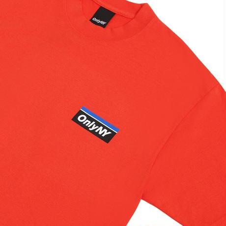 """""""ONLY NY""""Subway Logo T-Shirt(Orange)"""