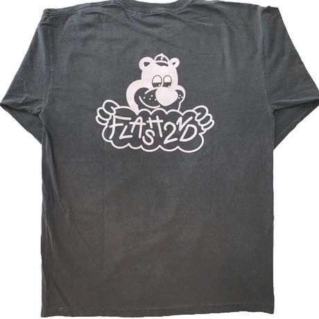 """FLASH"" Bear L/S Tee  (Black)"