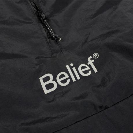 """""""Belief"""" Sport Logo Anorak - Black"""