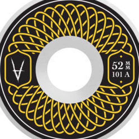 Antiz Wheels Rubber Yellow – 52mm