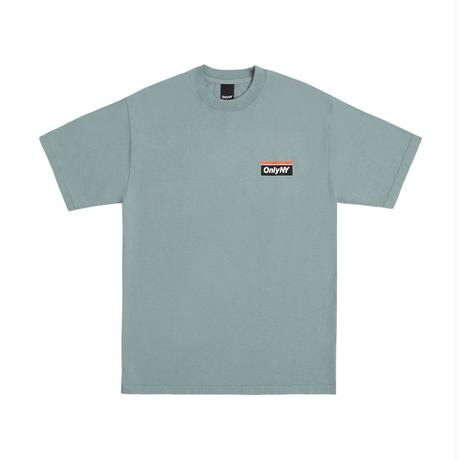 """ONLY NY""Subway Logo T-Shirt(Atlantic Green)"
