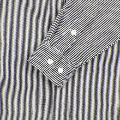 """ONLY NY"" Washed Cotton Work Shirt (Hickory Stripe)"
