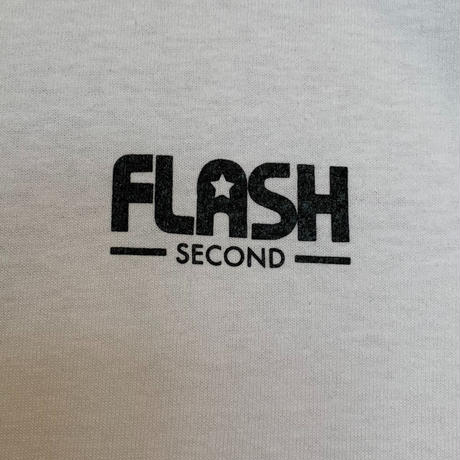 """""""FLASH""""  Signboard LSTee (White)"""