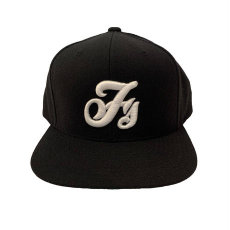"""FLASH"" Fs Logo 6Panel Cap (Black)"