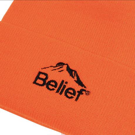 """""""Belief"""" Summit Beanie - Blaze Orange"""