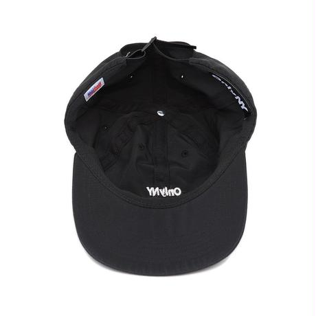 """ONLY NY"" Nylon Tech Polo Hat (Black)"