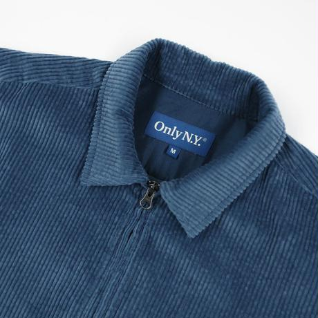 """ ONLY NY"" Wide Wale Corduroy Shacket (Navy)"