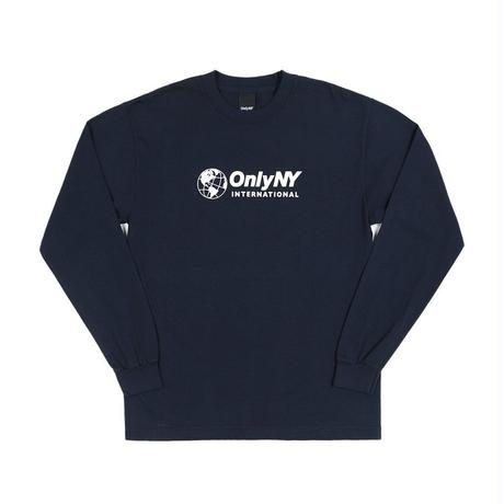 """ONLY NY"" International L/S T-Shirt (Navy)"