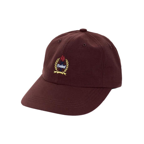 """Belief"" Liberty 6 Panel - Burgundy"