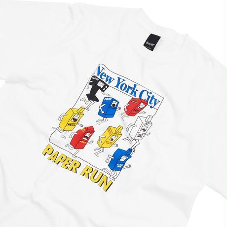 """""""Only NY""""Paper Run T-Shirt (White)"""