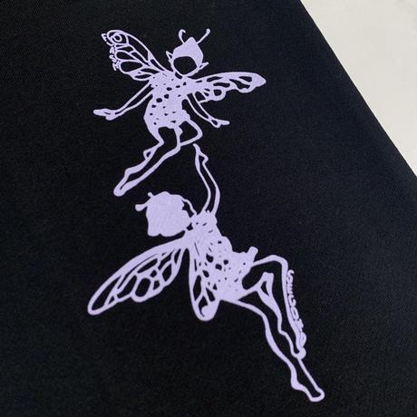 """FLASH"" Fairy Sweat Pants (Black)"