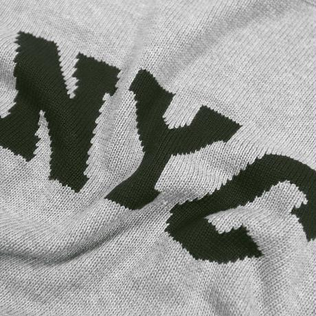 """ ONLY NY"" NYC Knit Sweater (Heather Grey)"