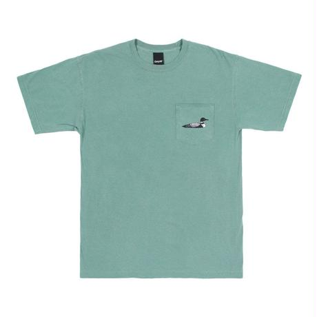 """ONLY NY"" Loon Society Pocket T-Shirt (Marsh)"