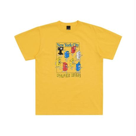 """""""Only NY""""Paper Run T-Shirt (Canary)"""