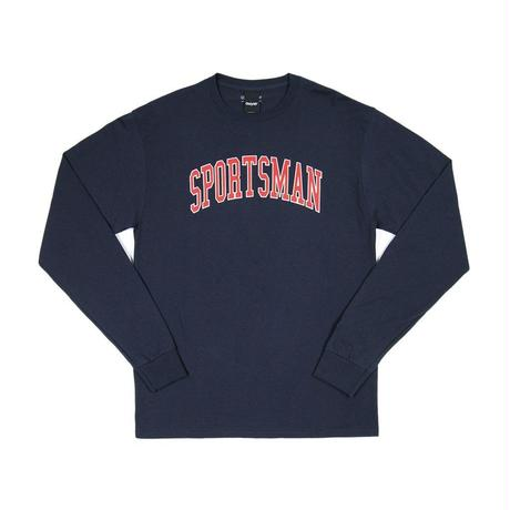 """ONLY NY"" Sportsman Champion® L/S T-Shirt (Navy)"