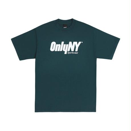 """ONLY NY""Court Logo T-Shirt( Forest Green)"