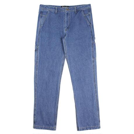 """""""Belief"""" Denim Carpenter Pant - Medium Blue"""
