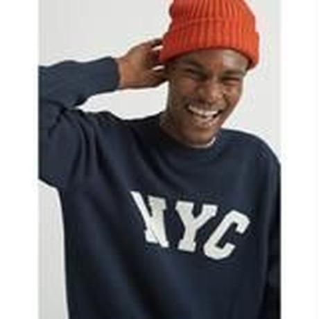 """""""ONLY NY"""" Fisherman Beanie (Pumpkin)"""