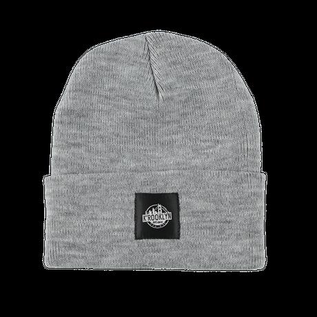 K'rooklyn × 上岡 拓也 Collaboration Knit Cap (Gray)