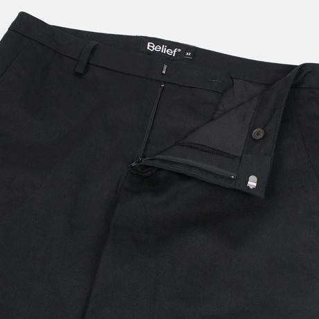 """Belief"" Heritage Chino Pant - Black"