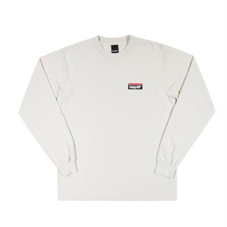 """ONLY NY"" Subway Logo L/S T-Shirt (Cement)"