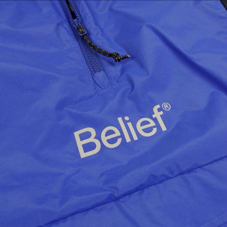 """Belief"" Sport Logo Anorak - Royal"