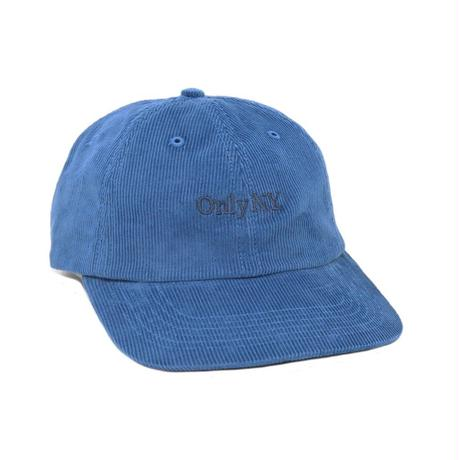 """ONLY NY"" Lodge Corduroy Polo Hat (Marine Blue)"