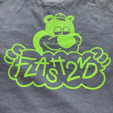 """""""FLASH"""" Bear L/S Tee  (Blue)"""
