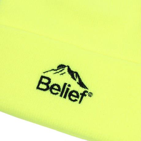 """""""Belief"""" Summit Beanie - Safety Yellow"""
