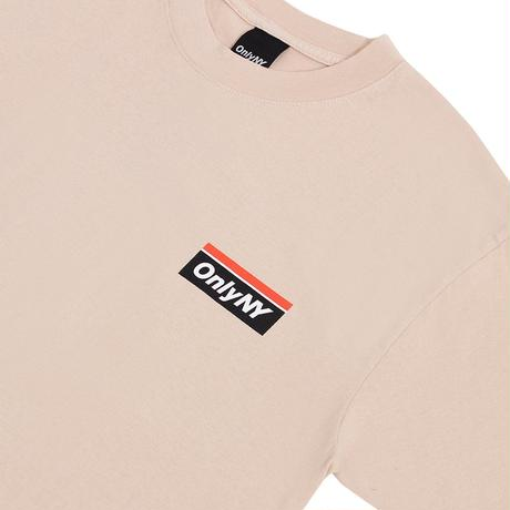 """ONLY NY""Subway Logo T-Shirt(Sand)"