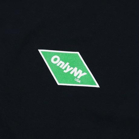 """ ONLY NY"" Diamond Logo L/S T-Shirt (Black)"